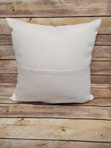 Sublimation Linen Pocket Pillow