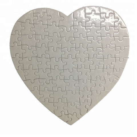 Sublimation Heart Puzzle