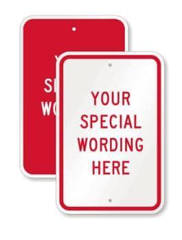9x12 Aluminum Street Signs for Sublimation