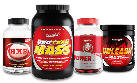 MASS MUSCLE GAINING STACK