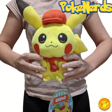 Pokemon Cafe Pikachu Plush | Rare Japanese Import!