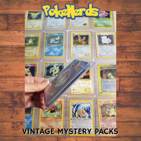 Vintage Pokemon Card Mystery Packs | Round 2!