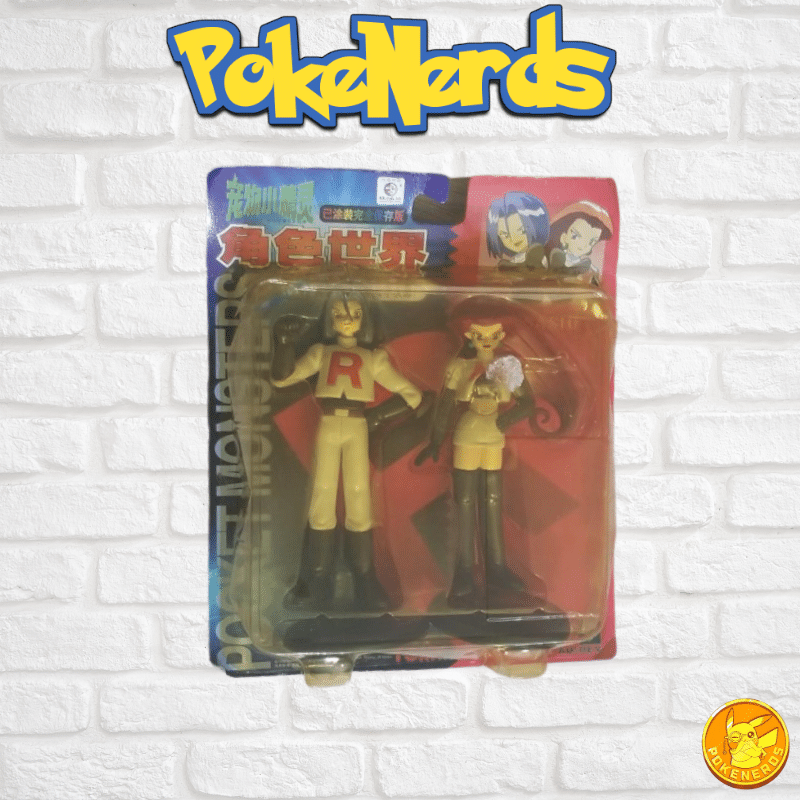 Vintage Japanese Jessie and James Figurines!