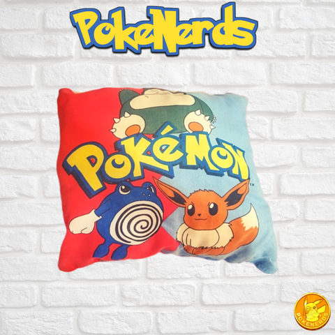 Vintage 2 Sided Nintendo Pokemon Pillow