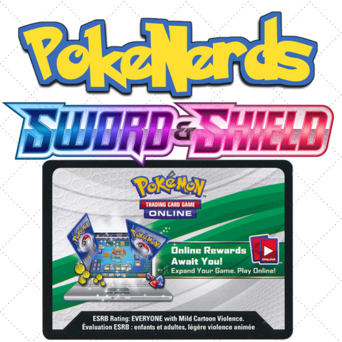 Sword and Shield PTCGO Codes