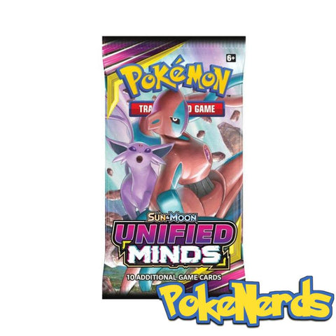 Pokemon Sun & Moon: Unified Minds Booster Packs