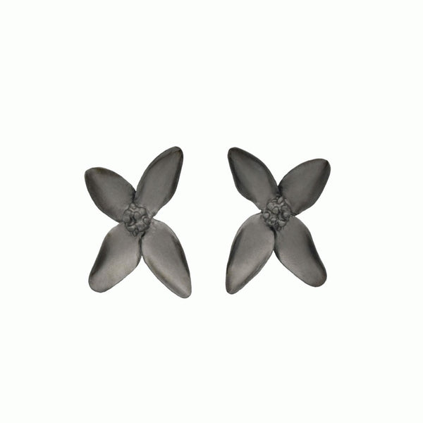 Blossom Earrings black
