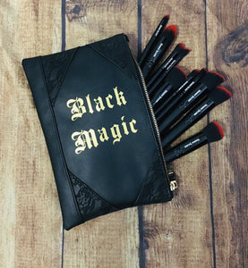 """Black Magic"" Cosmetic Bag"
