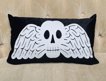 Load image into Gallery viewer, Velvet Pillow Cover - Memento Mori