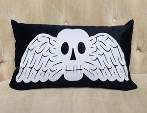 Velvet Pillow Cover - Memento Mori