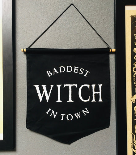 Large Banner - Baddest Witch