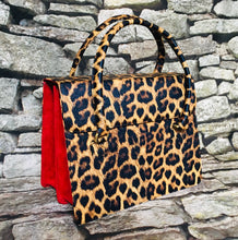 Load image into Gallery viewer, Leopard Satchel