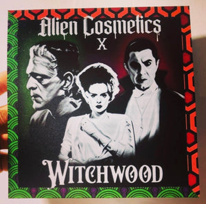 Vegan Horror Eyeshadow Palette - Collab with Alien Cosmetics