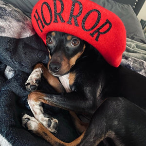 Vegan Beret - HORROR
