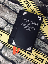 "Load image into Gallery viewer, ""True Crime"" Book Clutch & Crossbody"