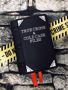 """True Crime"" Book Clutch & Crossbody"