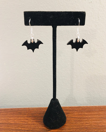 Hanging Mini Bats Earrings