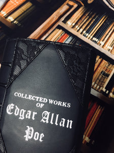 Edgar Allan Poe Book Clutch & Crossbody