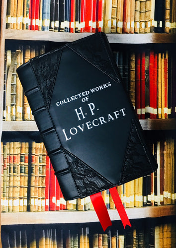 H.P. Lovecraft Book Clutch & Crossbody