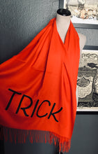 Load image into Gallery viewer, Vegan Cashmere Scarf - Trick or Treat