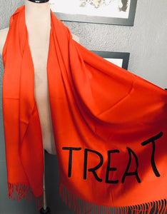 Vegan Cashmere Scarf - Trick or Treat