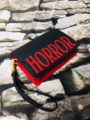 Horror Book Wallet