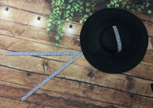Load image into Gallery viewer, Black Sun Hat - XL Brim