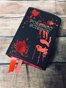 """Forensic Science"" Book Clutch & Crossbody"