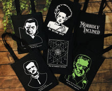 Load image into Gallery viewer, Edgar Allan Poe Tote Bag - Heavy Duty