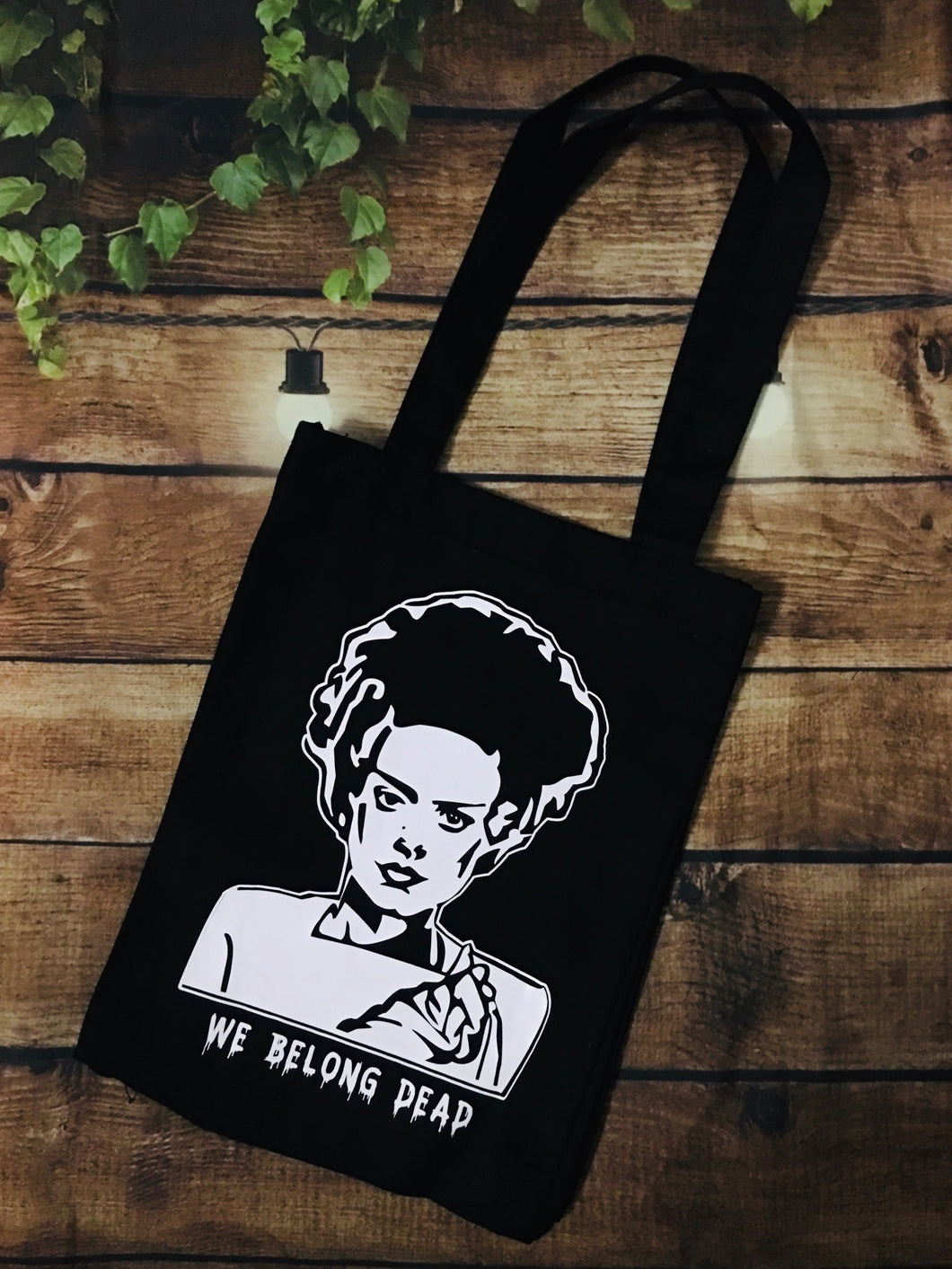 Bride of Frankenstein Tote Bag - Heavy Duty