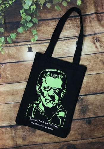 Frankenstein Tote Bag - Heavy Duty
