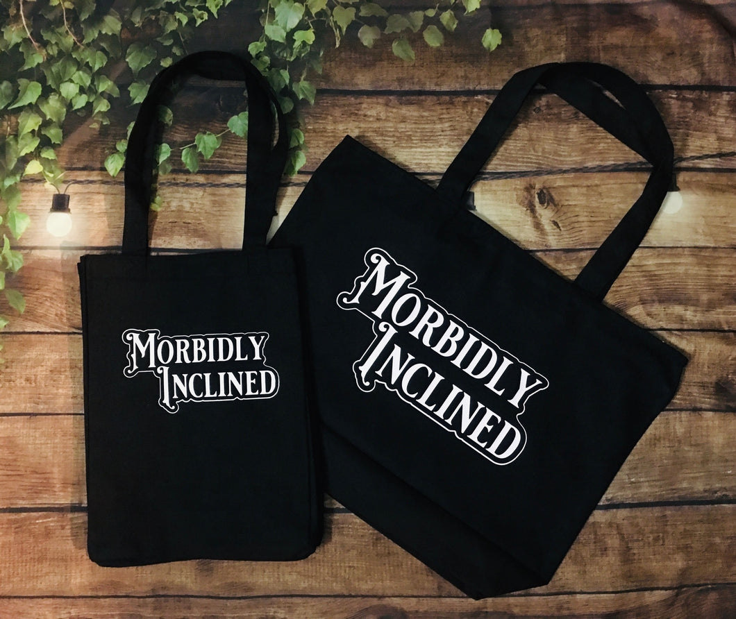 Morbidly Inclined Tote - Heavy Duty
