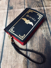 Load image into Gallery viewer, Dracula Book Wallet
