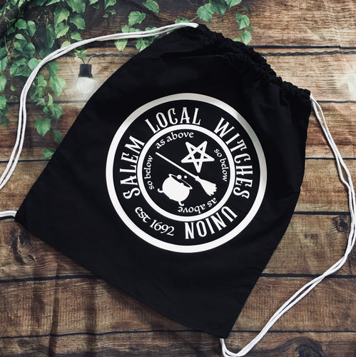 Witches Union - Drawstring Backpack