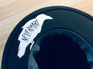 Vegan Felt Hat - Nevermore