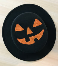 Load image into Gallery viewer, Flat Top Felt Hat - Jack-O