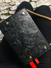 "Load image into Gallery viewer, ""Brews & Potions"" Floral Book Clutch & Crossbody"