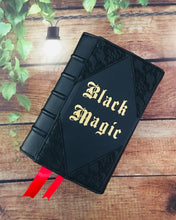 Load image into Gallery viewer, Black Magic Book Clutch & Crossbody