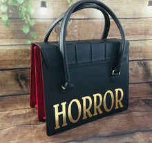Load image into Gallery viewer, Horror Satchel - Gold/Silver