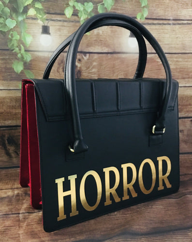 Horror Satchel - Gold/Silver