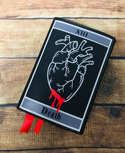 Death Tarot Book Clutch & Crossbody