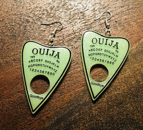 Planchette Earrings - Fluorescent