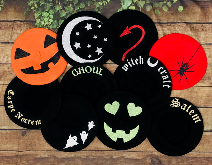 Vegan Beret - Halloween Collection