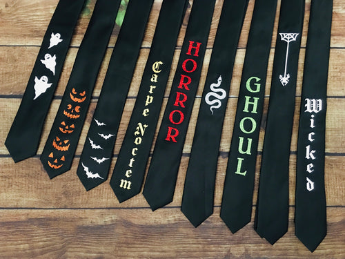 Skinny Ties - Halloween Collection