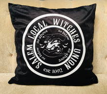Load image into Gallery viewer, Velvet Pillow Cover - Witches Union