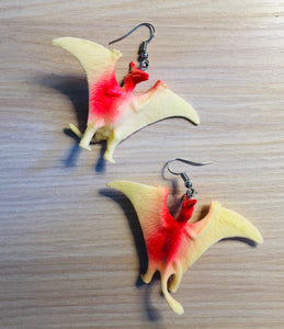 Pterodactyl Earrings