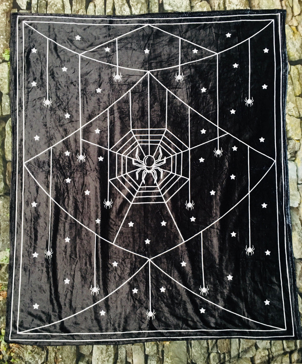 Fleece Blanket - Spider Web