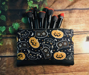 Pumpkin Cats Cosmetic Bag