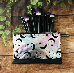 Pastel Moons Cosmetic Bag