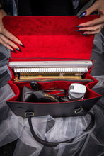 Load image into Gallery viewer, Horror Satchel - Red Glitter
